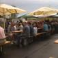 Trotz schlechten Wetters waren auch 2011 viele Besucher beim Sommerfest