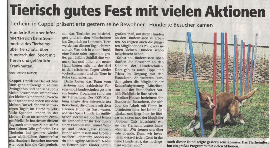 Oberhessische_Presse_24.8.2015__Sommerfest_Tierheim