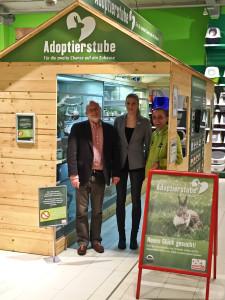 PETA-Vertreter zu Besuch in Marburg 1-2016