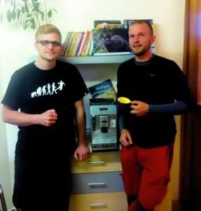 Kaffee-Tester, Foto Tierheim